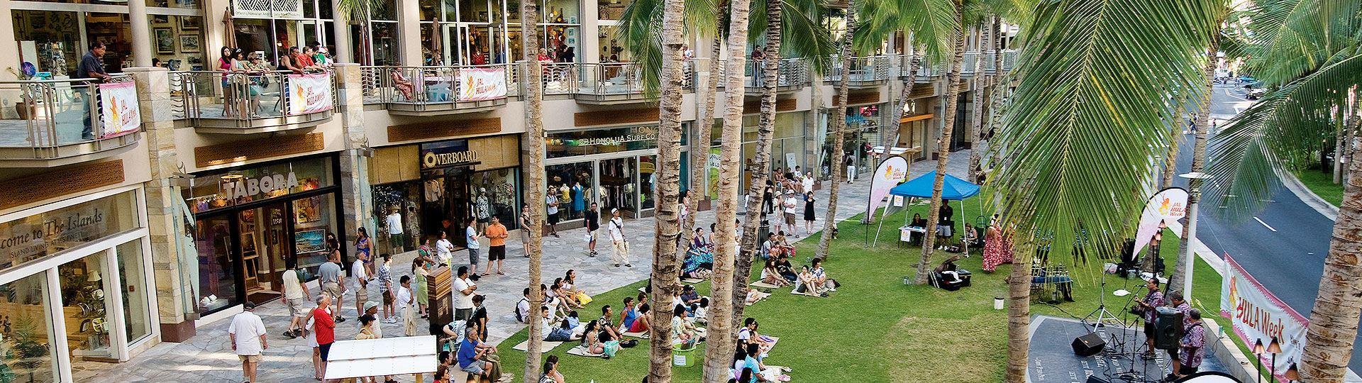 Shopping of Honolulu, Hawaii Hotel