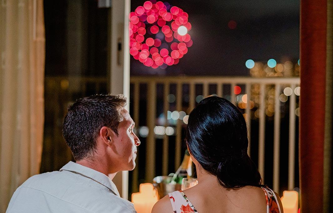 Suite romance at Honolulu, Hawaii Hotel