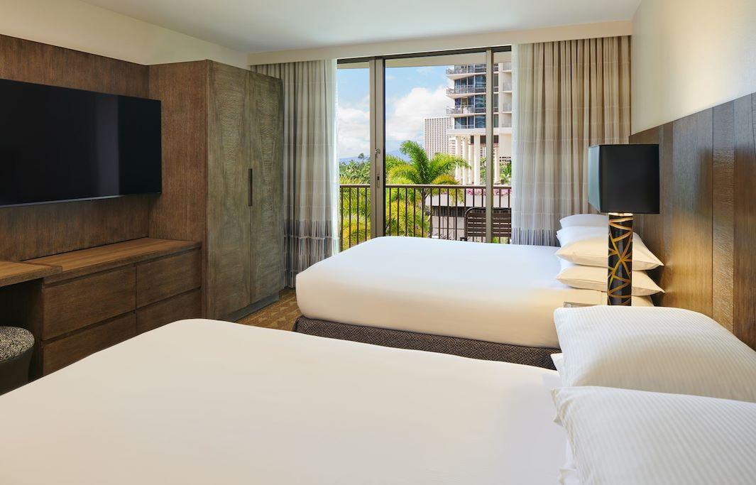 Pool View Two Bedroom Suite At Honolulu, Hawaii Hotel