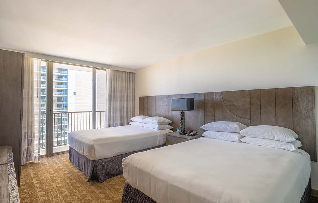 Accessible Rooms View In Honolulu, Hawaii Hotel