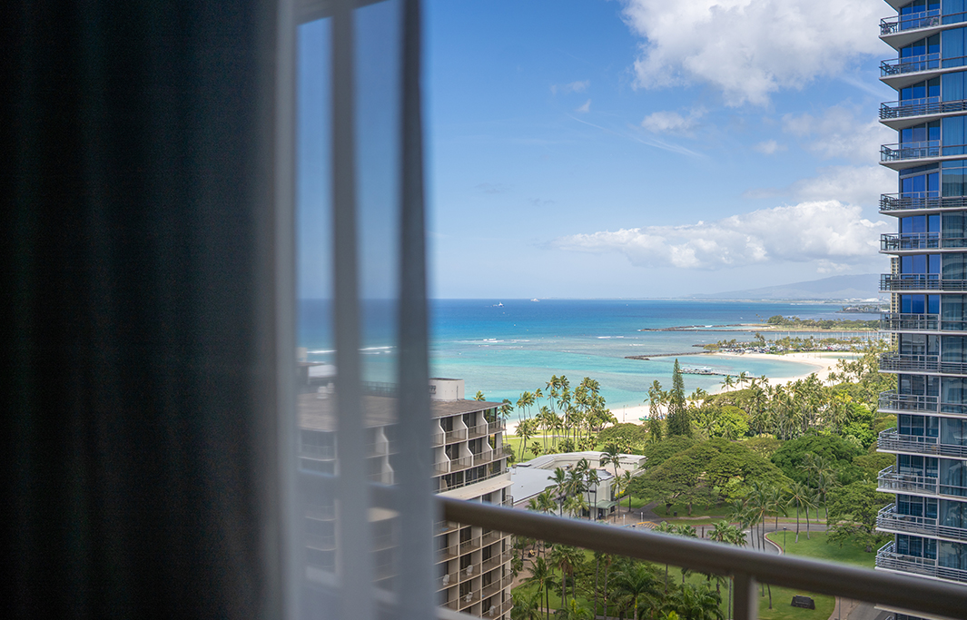 Ocean View In Honolulu, Hawaii Hotel