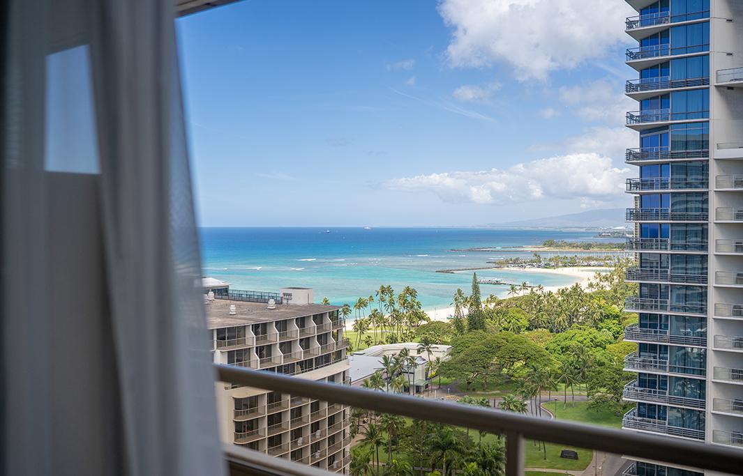 Ocean View In Waikiki, Honolulu, Hawaii Hotel