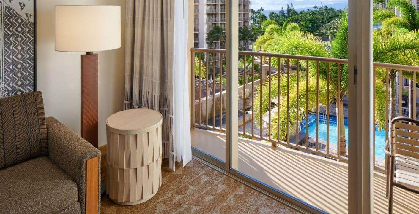 Standard View of Honolulu Hawaii Hotel