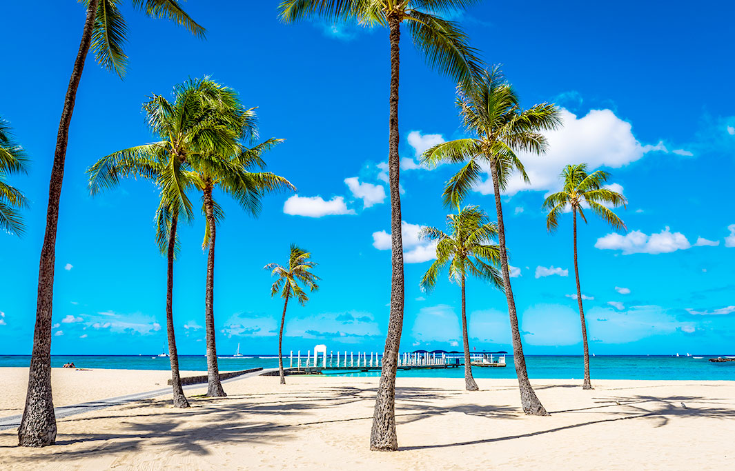 Fort DeRussy Beach Park of Honolulu, Hawaii Hotel