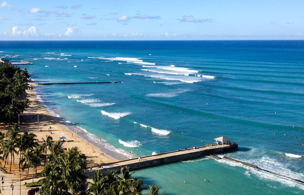 Prince Kuhio Beach of Honolulu, Hawaii Hotel