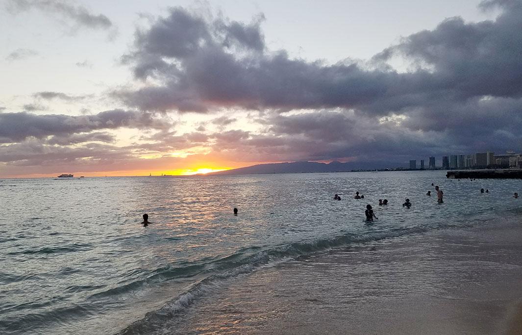San Souci Beach of Honolulu, Hawaii Hotel