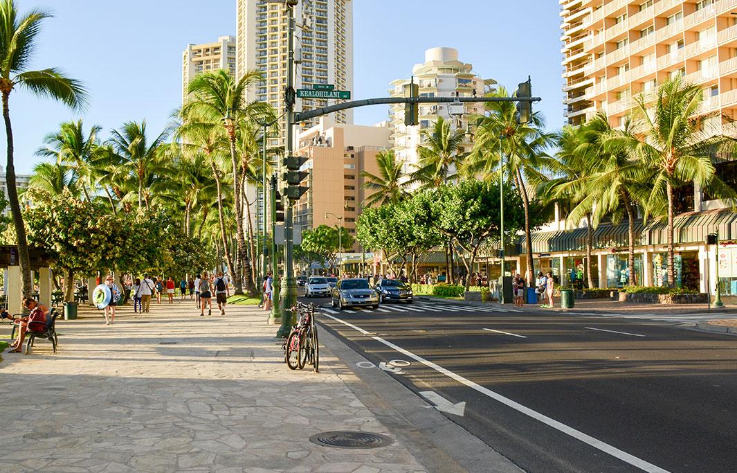 Waikiki Beach Center of Honolulu, Hawaii Hotel